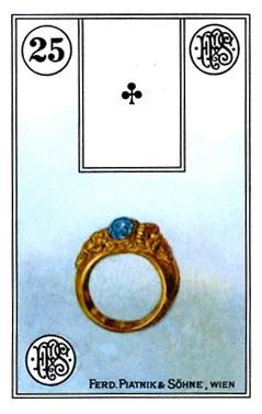 Ý Nghĩa Lá Bài Lenormand Ring (25)