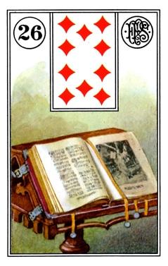 Kết Hợp Lá Bài Lenormand Book (26)