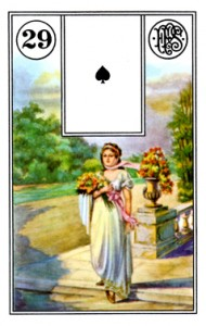 Lenormand 29 Lady