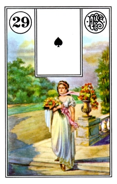 Ý Nghĩa Lá Bài Lenormand Lady (29)