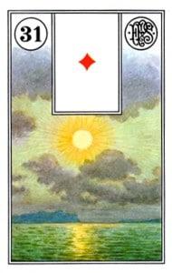 Lenormand 31 Sun