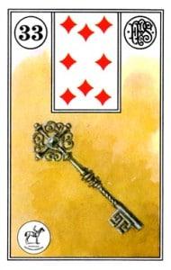 Lenormand 33 Key