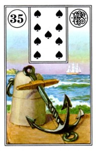 Lenormand 35 Anchor