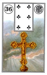 Lenormand 36 Cross