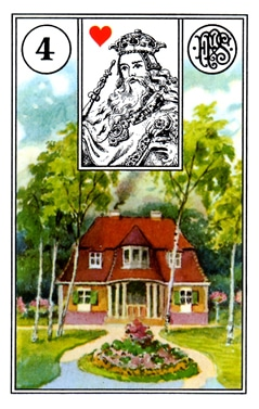 Kết Hợp Lá Bài Lenormand House (4)
