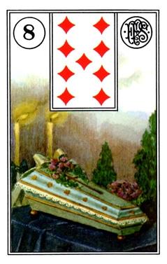 Kết Hợp Lá Bài Lenormand Coffin (8)