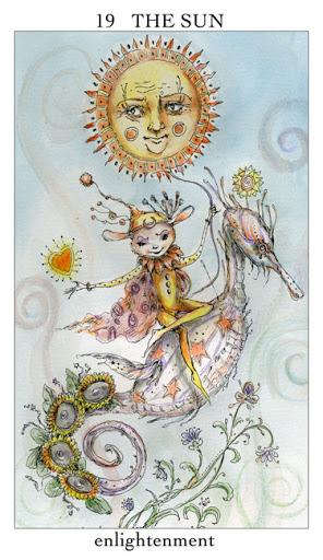 Lá XIX. The Sun – Joie de Vivre Tarot