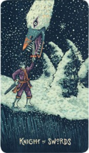 63 - Knight of Swords