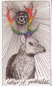 Wild Unknown Pentacles 14