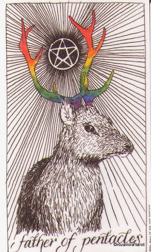 Lá Father of Pentacles – Wild Unknown Tarot