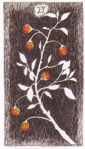 Lá Six of Pentacles – Wild Unknown Tarot
