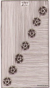 Wild Unknown Pentacles 7