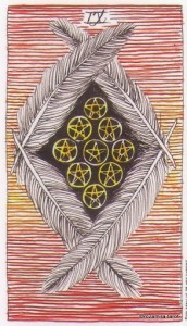 Wild Unknown Pentacles 9
