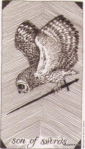 Lá Son of Swords – Wild Unknown Tarot