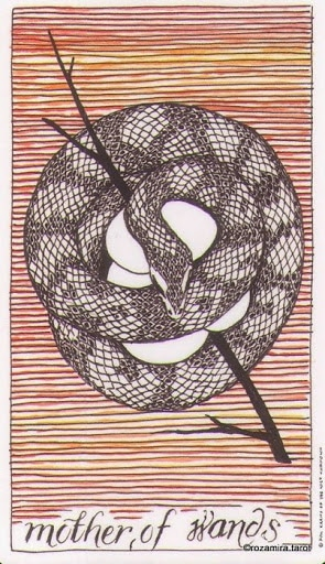 Lá Mother of Wands – Wild Unknown Tarot