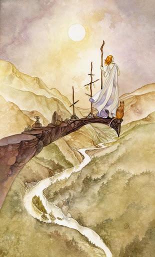 Lá Three of Wands – Shadowscapes Tarot