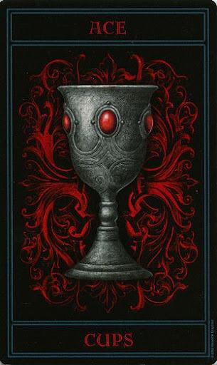 Lá Ace of Cups – Gothic Tarot