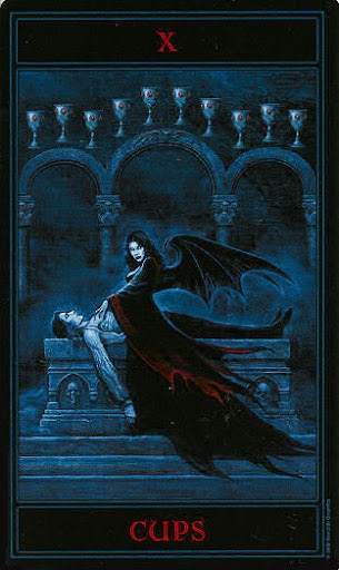 Lá Ten of Cups – Gothic Tarot