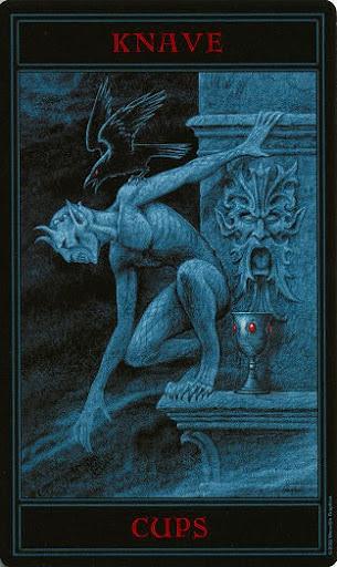 Lá Knave of Cups – Gothic Tarot