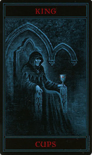 Lá King of Cups – Gothic Tarot