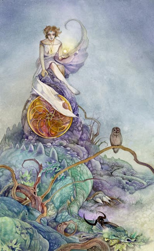 Lá Page of Pentacles – Shadowscapes Tarot