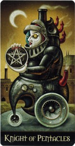 Pentacles Knight