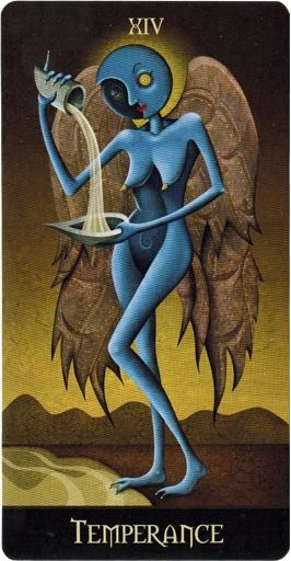 Xiv Temperance Balance Archangel Zadkiel: Lá XIV. Temperance