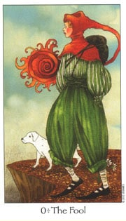 Lá 0. The Fool – Dreaming Way Tarot