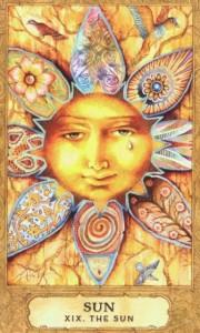 Lá XXI. The Sun – Chrysalis Tarot