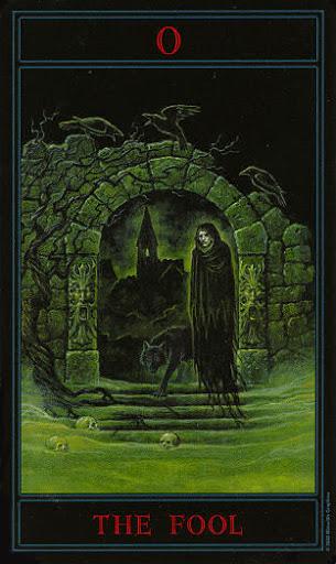 Lá 0. The Fool – Gothic Tarot