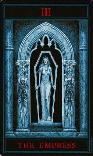Lá III. The Empress – Gothic Tarot