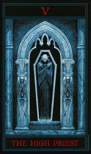 Lá V. The High Priest – Gothic Tarot