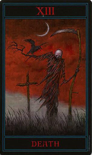 Lá XIII. Death – Gothic Tarot