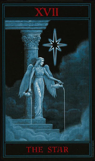 Lá XVII. The Star – Gothic Tarot