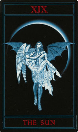 Lá XIX. The Sun – Gothic Tarot