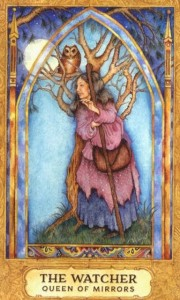 Lá Queen of Cups - Chrysalis Tarot