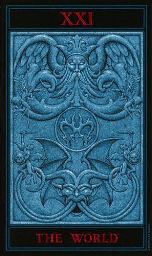 Lá XXI. The World – Gothic Tarot
