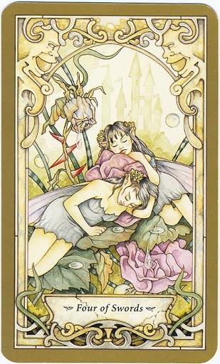 Mystic Faerie Tarot The World: Mystic Faerie Tarot