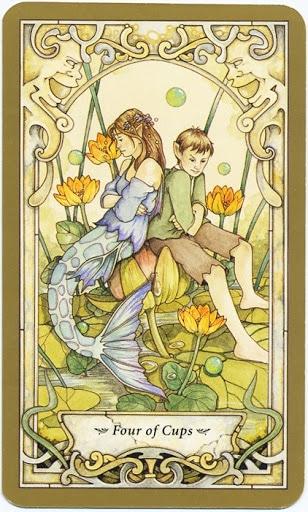 Lá 4 of Cups – Mystic Faerie Tarot