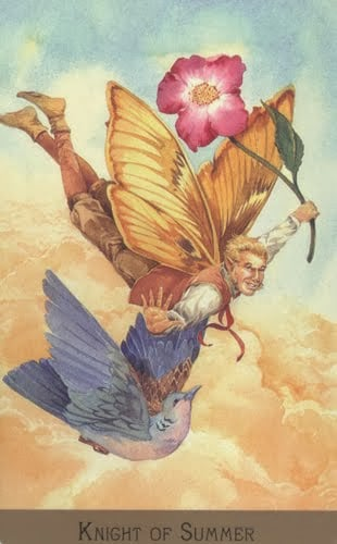 Lá Knight of Summer – Victorian Fairy Tarot