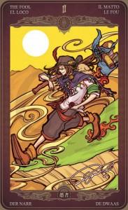 Ý nghĩa lá bài The Fool trong bộ Oze69 Watchers Tarot