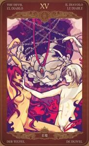 Ý nghĩa lá bài The Devil trong bộ Oze69 Watchers Tarot