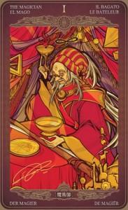 Ý nghĩa lá bài The Magician trong bộ Oze69 Watchers Tarot