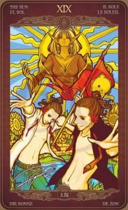 Ý nghĩa lá bài The Sun trong bộ Oze69 Watchers Tarot