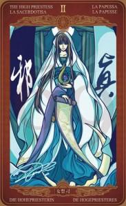 Ý nghĩa lá bài The High Priestess trong bộ Oze69 Watchers Tarot