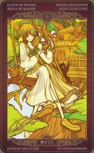 Ý nghĩa lá bài Queen of Wands trong bộ Oze69 Watchers Tarot