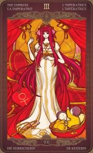Ý nghĩa lá bài The Empress trong bộ Oze69 Watchers Tarot