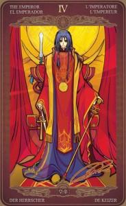 Ý nghĩa lá bài The Emperor trong bộ Oze69 Watchers Tarot