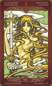 Ý nghĩa lá bài Ace of Swords trong bộ Oze69 Watchers Tarot