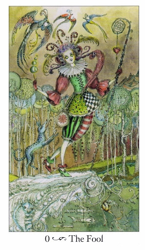 Lá 0. The Fool - Paulina Tarot